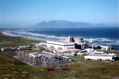 Koeberg nuclear power station, South Africa.