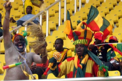 Benin fans (file photo).