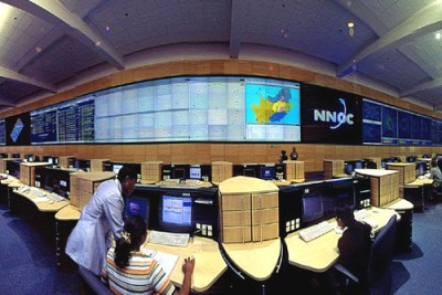 South Africa's Telkom operates its networks from this control centre.