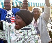 Kenyans Celebrate Election of Barack Obama - November 5, 2008