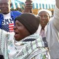 Kenyans Celebrate Election of Barack Obama - November 5, 2008