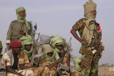 Sudanese rebels (file photo).