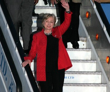 U.S. Secretary of State Clinton Visits Kenya