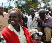 Widows from Angata Barakoi Support Selves Selling Maize