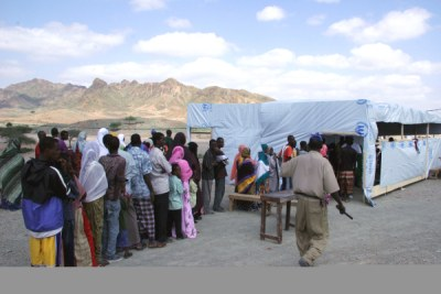 Refugees in Djibouti (file photo).