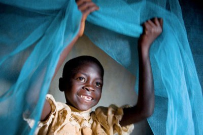 Malaria nets to protect people from being bitten by mosquitoes while they are sleeping are critical in the fight against the disease.