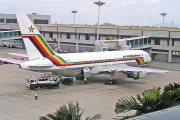 An Air Zimbabwe Plane.