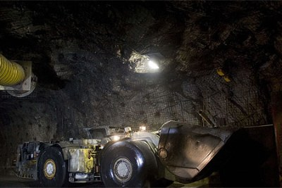 A mine site in northern Saskatchewan. Tanzania expects to start mining uranium by 2011, its energy and mineral minister said.
