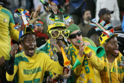 South African soccer fans.