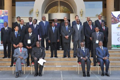The SADC Summit Heads of State and Government in Namibia, 2010.