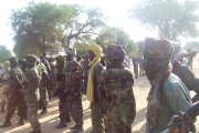Chadian soldiers.