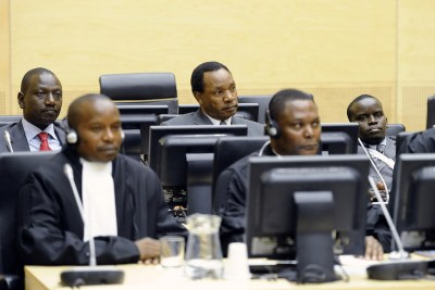 Initial appearance: Deputy President William Samoei Ruto, Henry Kiprono Kosgey and Joshua Arap Sang before the ICC.