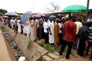 Nigerians Vote for a President