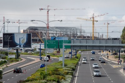 Upgrading Cape Town International Airport: Africa's lack of infrastructure hinders investment.