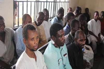 Nineteen suspected members of Boko Haram.