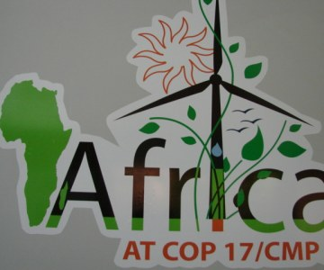 Behind the Scenes at COP 17