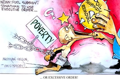 The fuel subsidy saga continues.