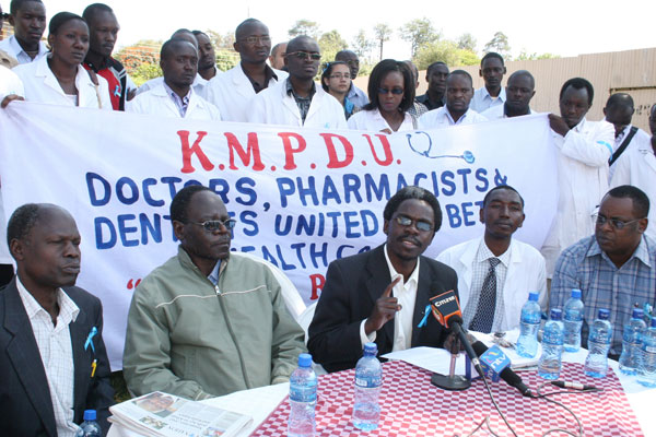 meet the doctors strike in kenya