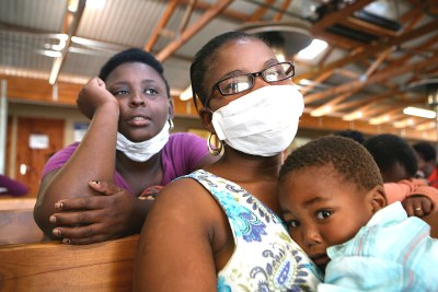 TB face mask (file photo): An estimated 20 million people are alive today as a direct result of tuberculosis care and control, according to the Global Tuberculosis Report 2012.