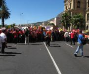 Cosatu March in Cape Town