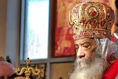 Former Pope, Shenouda III of Alexandria (file photo).