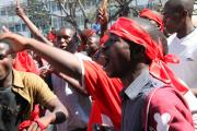 Civil society demonstrations on July 20, 2011, in Blantyre.