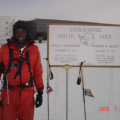 First Black African to Reach the South Pole