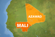 The Azawad region claimed by rebels is a broad area of northern Mali.