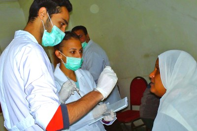 Poverty in Egypt's slums contributes to the spread of infectious diseases like Tuberculosis.