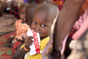A recent survey shows that Tanzanian children suffer from malnutrition with approximately 69% of them being anemic.