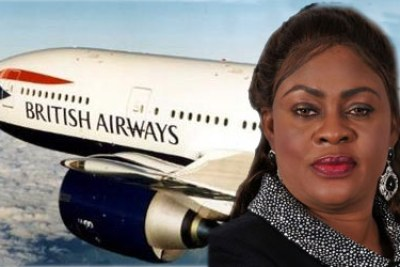 Aviation minister, Stella Oduah