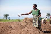 Women farmers in Burundi.