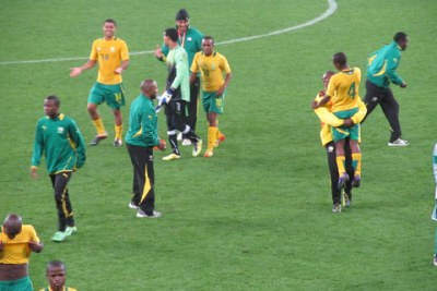 The South Africa, Under-20 Men's National team 'Amajita'.
