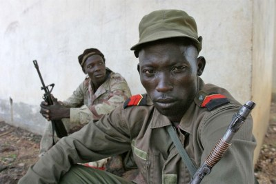 Rebels in the Central African Republic (file photo).