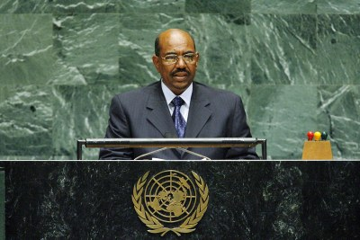 Sudanese president Omar Hassan Al-Bashir has paid tribute to the  minister of Guidance and Endowments who died in a plane crash (file photo).