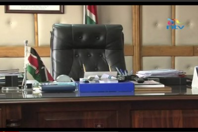 The desk and personal effects of the late Internal Security Minister George Saitoti offer poignant reminders his career.