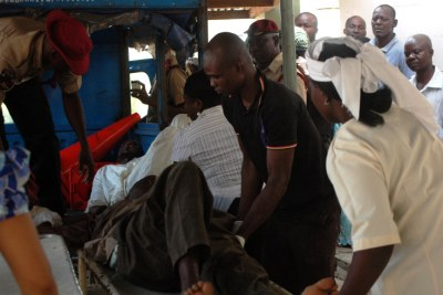 A victim of the violence in Kaduna