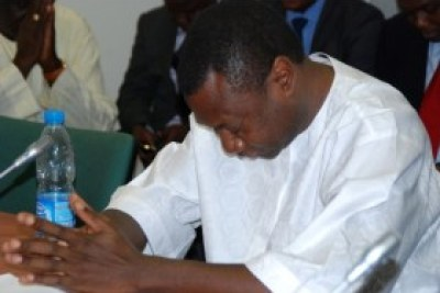 Oil magnate Femi Otedola, implicated in the Farouk Lawan bribery scandal.