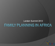 Family Planning in Africa by the Numbers