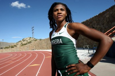 Blessing Okagbare, Nigerian track and field athlete.