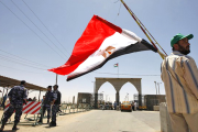The Rafah Border crossing on the border between Egypt and the Gaza (file photo).