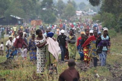 The UN reports that more than two million people are now displaced across the DR Congo, the highest figure the country has seen since 2009.