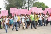 Bakassi indegenes in protest