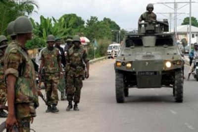 JTF soldiers in Jos