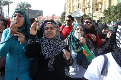 International women day in Egypt