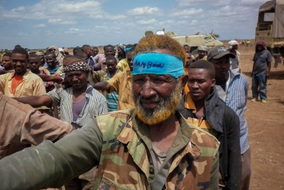 Al Shabaab militia (file photo): Government has promised to retake Hudur town back from armed militia.