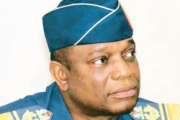 The chief of defence staff, Air Chief Marshal Oluseyi Petinrin