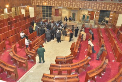 Parliament puts up a spirited fight in defence of their salaries.