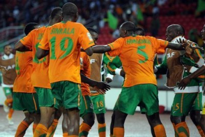 The Zambia national football team.