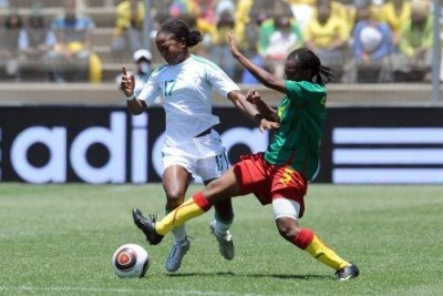 Semi-final: Nigeria v Cameroon  AWC game